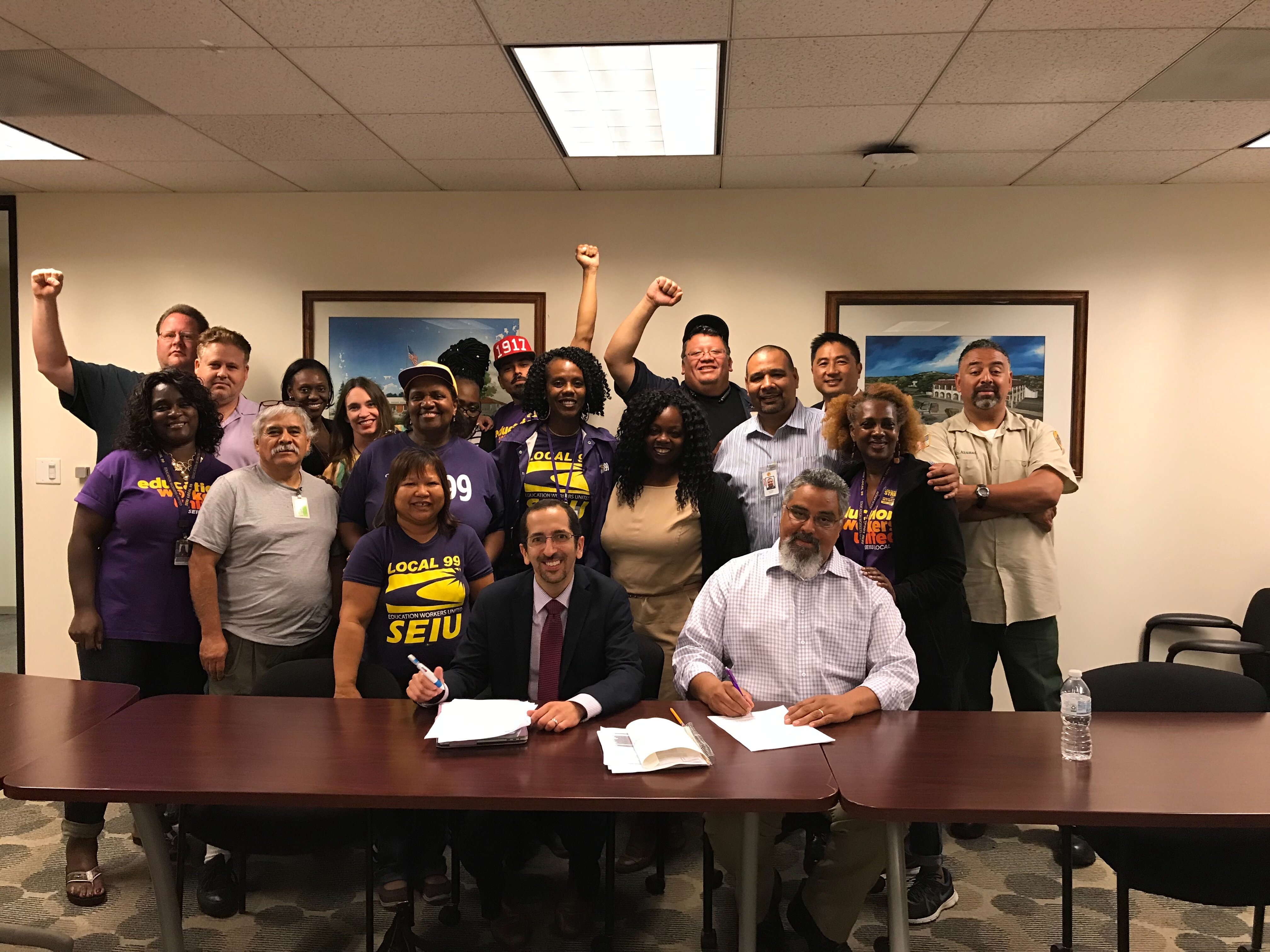 Contract Agreement Reached with LAUSD. Strike Called-Off.