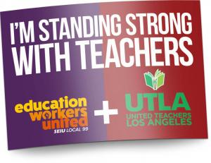 you may have seen or heard some media reports saying that seiu local 99 and other unions at lausd reached wage agreements