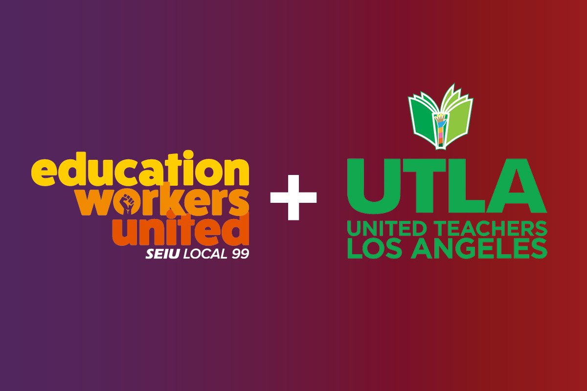Standing Strong With Teachers At Lausd Seiu Local 99