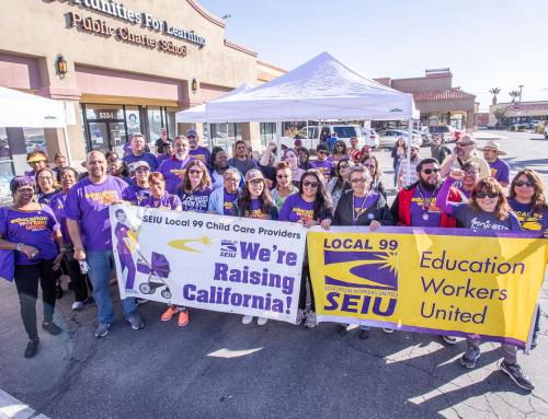 We Did it! We Elected Working Family and Education Worker Champions! SEIU99 members led efforts to elect Gavin Newsom for Governor