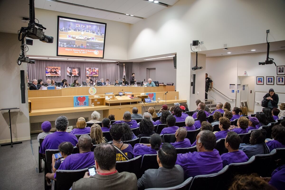 Take Action for Quality Schools, Good Jobs at LAUSD! Join the SEIU 99 Member Contract Advisory Council
