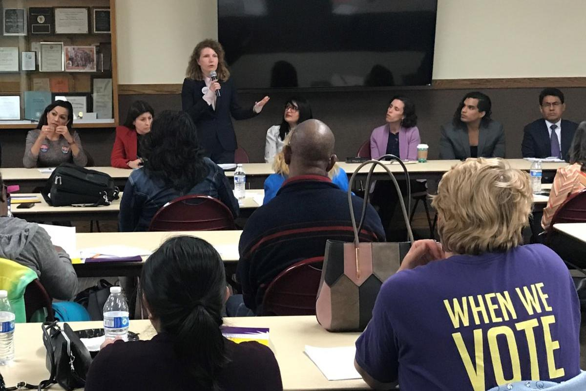 SEIU Local 99 Education Workers Endorse Heather Repenning for LAUSD Board District 5 Seat