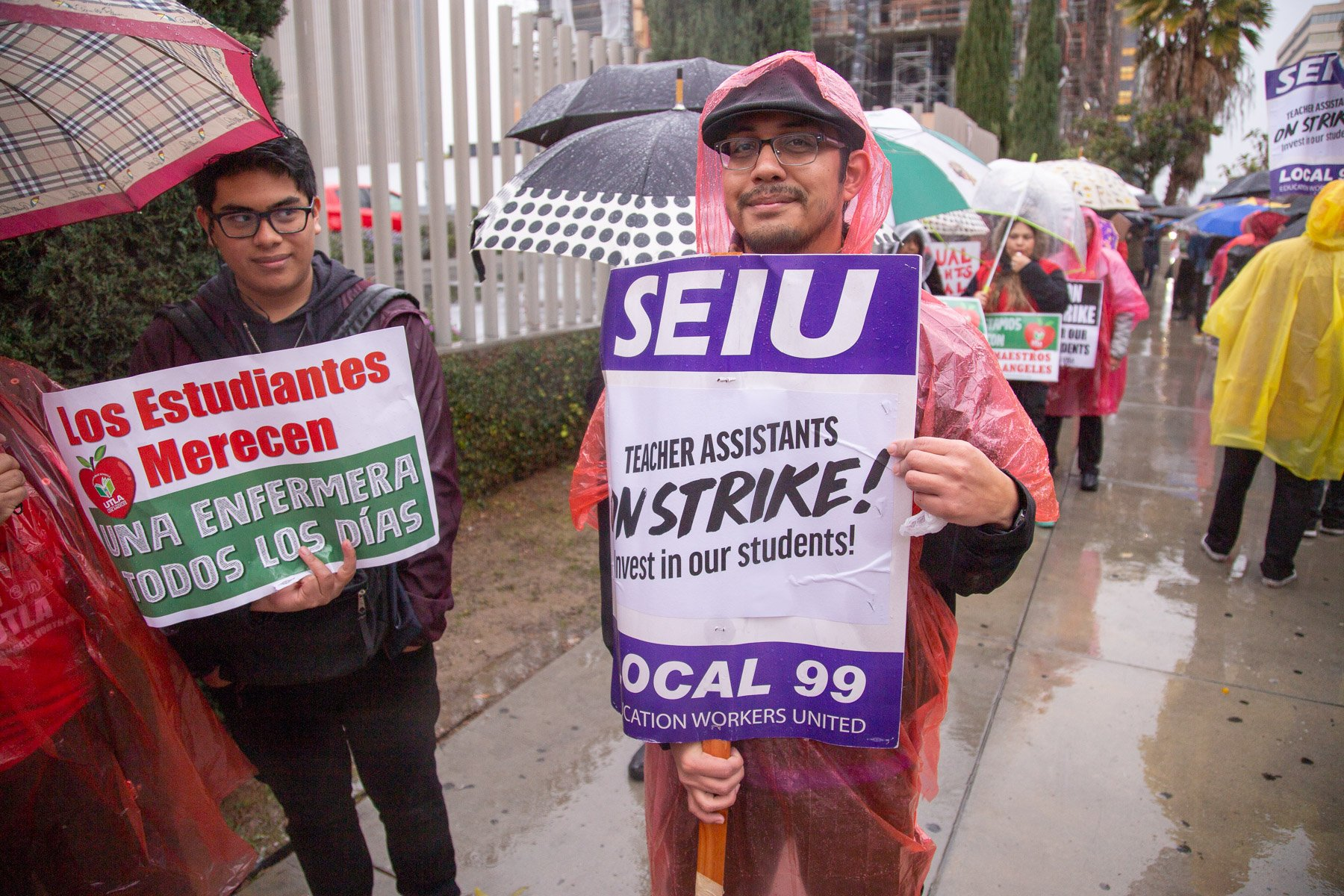 Standing Strong with Teachers on Day One of UTLA Strike