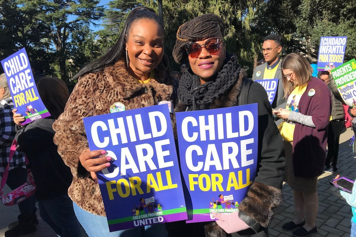 California Child Care Providers Renew Push for Collective Bargaining Rights