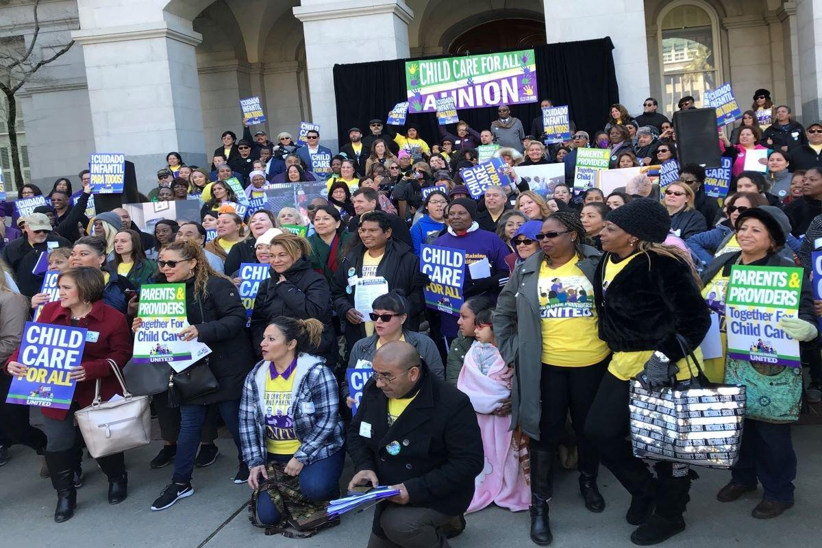 Press Release: Child Care Providers Descend on the State Capitol