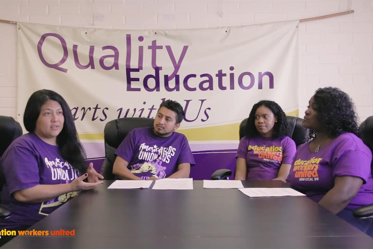 Special Ed Assistants and a SLPA Talk About Their Work, the Need for More Funding, and Measure EE