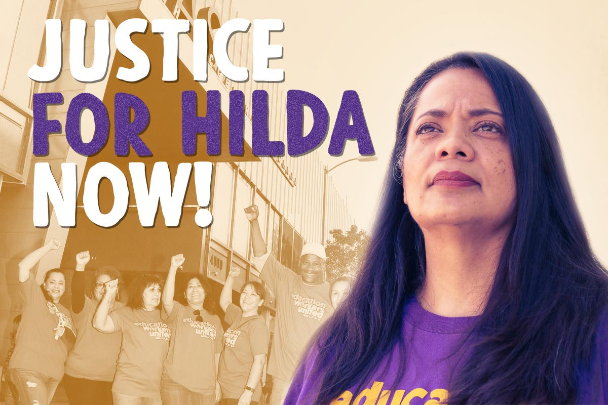 We've filed charges against TAS! Community continues to demand Justice for Hilda Rodriguez-Guzman
