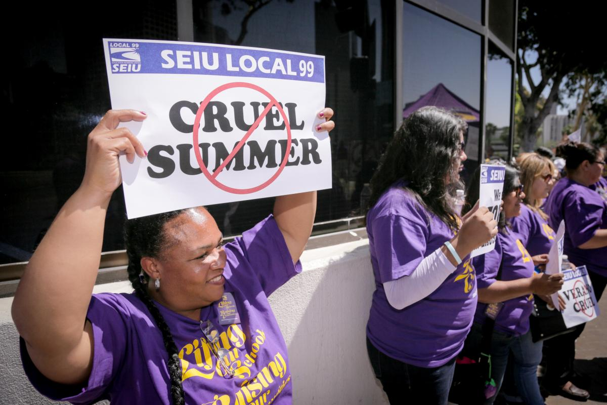 When We Fight, We Win! LAUSD Reinstates Hundreds of Members to Summer Bridge Program