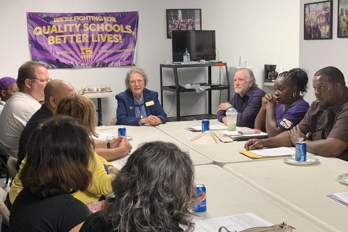 SEIU Local 99 Education Workers Endorse Patricia Castellanos, Jackie Goldberg, Scott Schmerelson and George McKenna for LAUSD Board