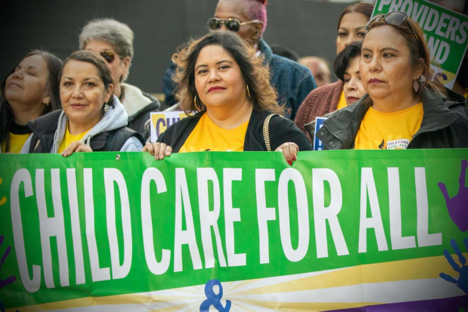 """We are essential workers – everyone needs child care."""
