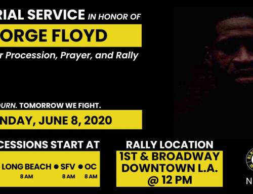 Memorial Service & Procession Honoring George Floyd Join us in remembering George Floyd and calling for an end to systemic racism