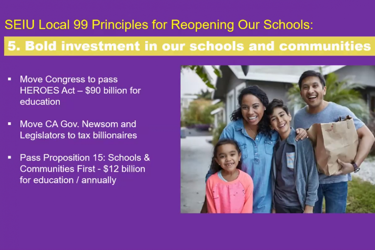 July 14 Webinar: Principles for Reopening Our Schools – View the Full Recording