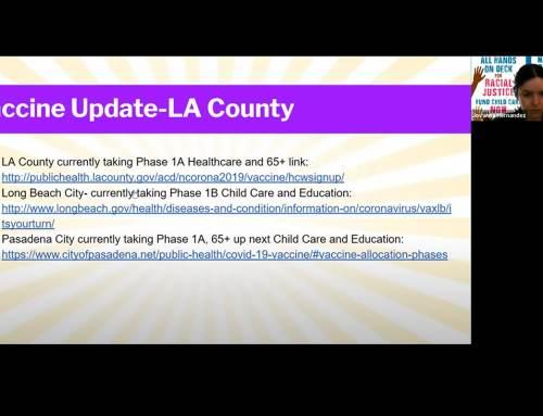 Child Care Providers United Membership Meeting – Jan. 30, 2021