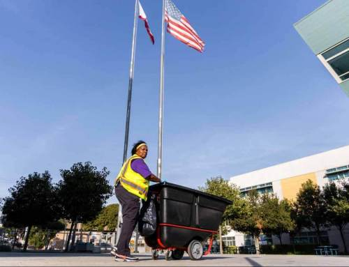 'Someone's Gotta Do It': A Day in the Life of a LAUSD Custodian