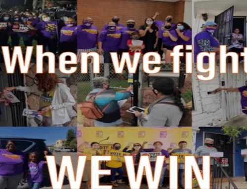 We did it! Working people beat back the recall of Gov. Newsom We stood strong for good jobs, quality education, healthy communities